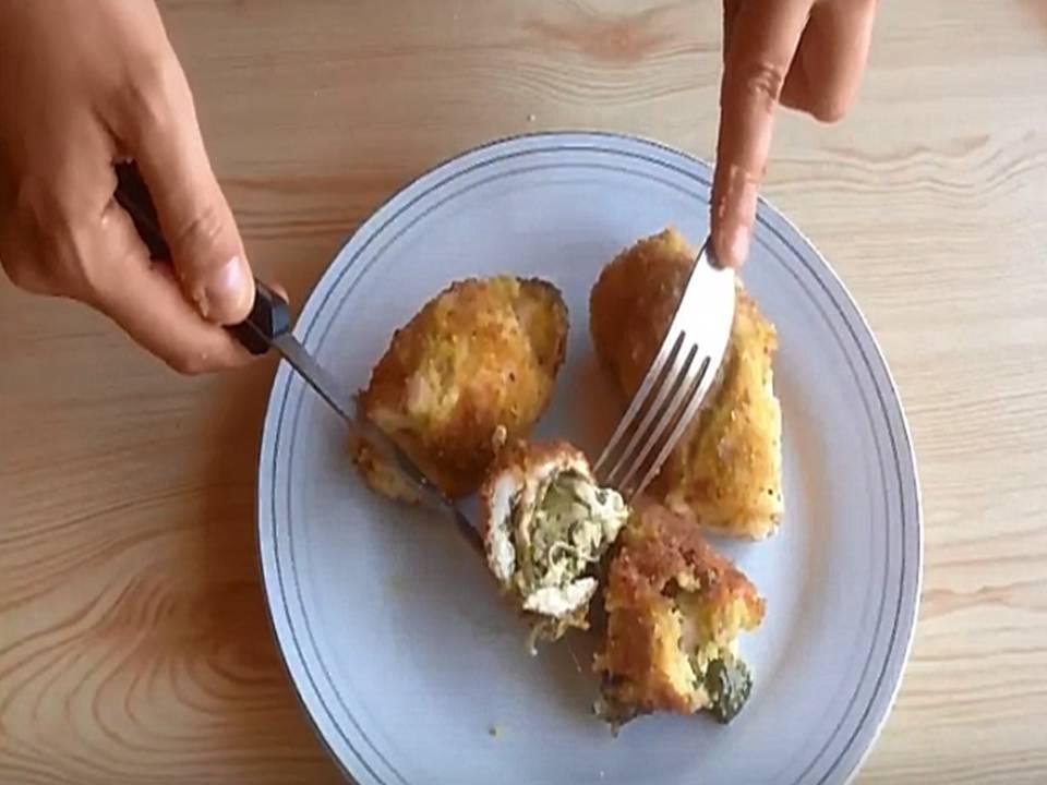 involtini di pollo con crema alla canapa