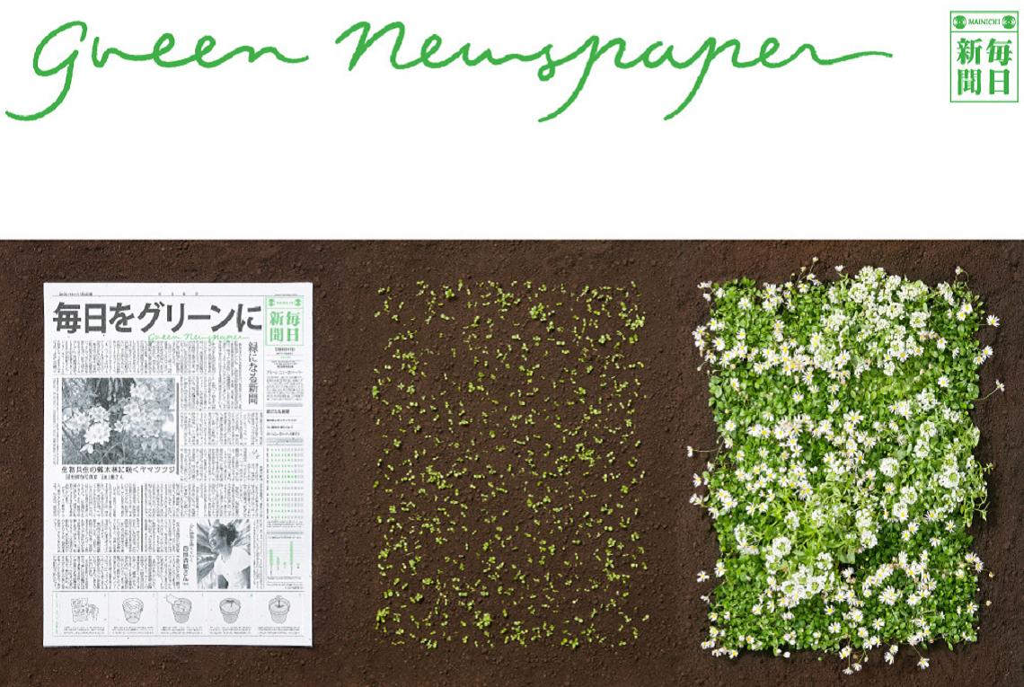 Il giornale che si pianta